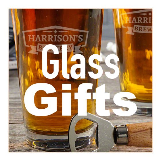 Personalised Glass Gifts