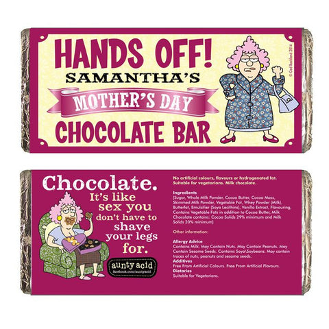Aunty Acid Hands Off Mother's Day Chocolate