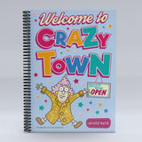 Aunty Acid Crazy Town Notebook
