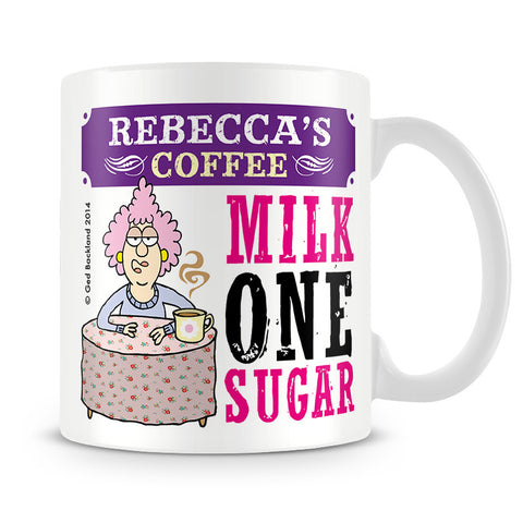Aunty Acid Personalised - Tea Or Coffee Mug