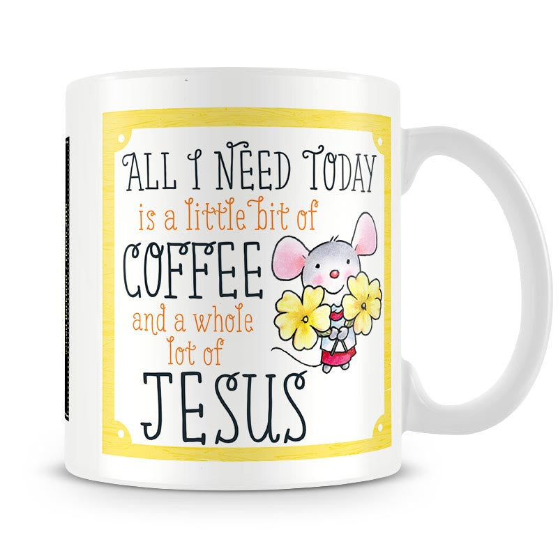 Little Church Mouse Coffee & Jesus - Son Of God Mug