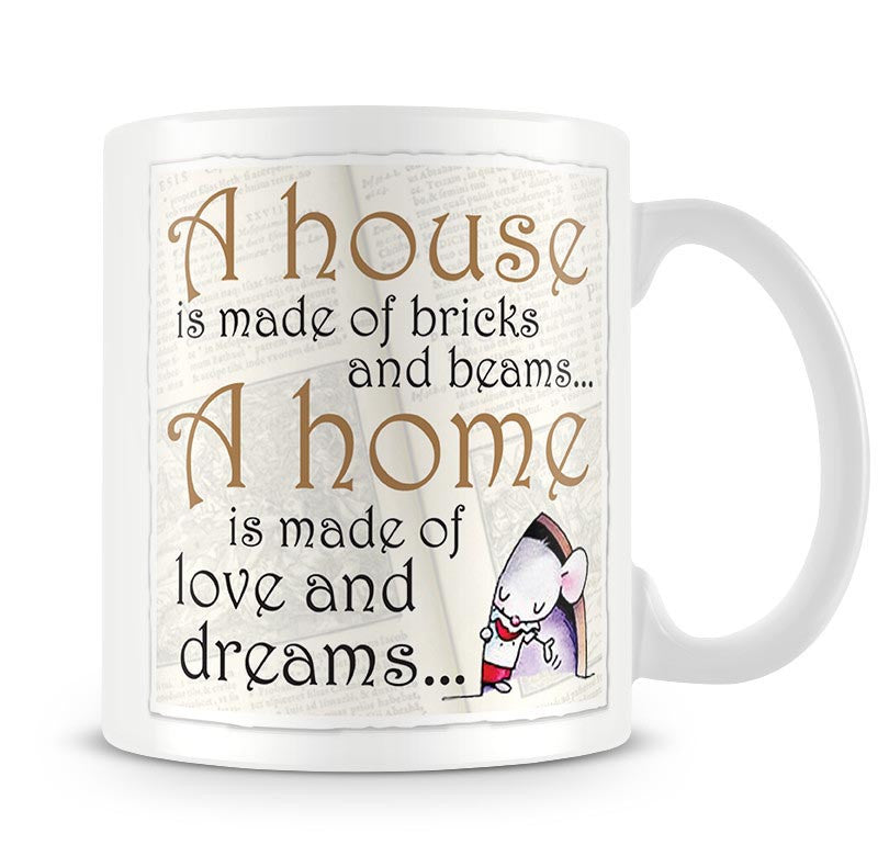 Little Church Mouse A House Mug