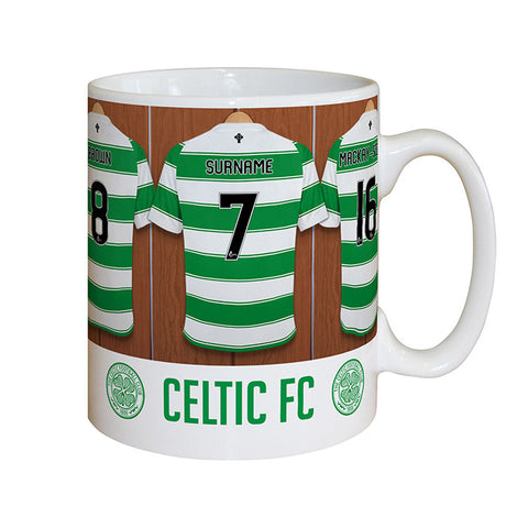 Personalised Celtic Dressing Room Mug