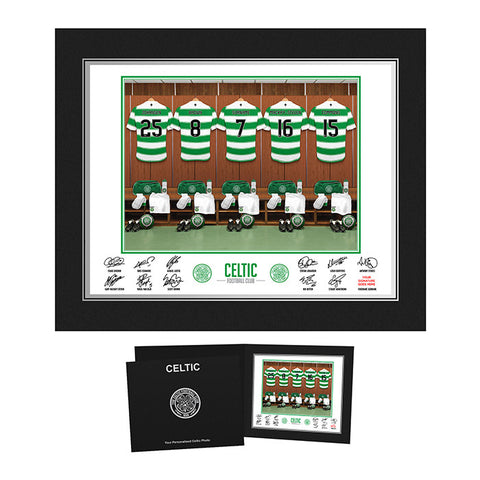 Personalised Celtic Dressing Room Print