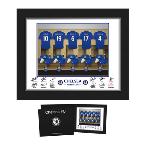 Personalised Chelsea Dressing Room Print