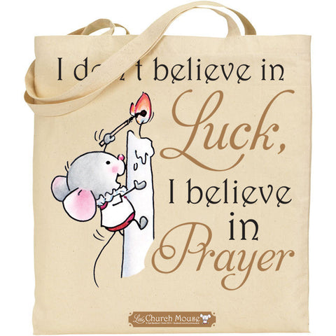 Little Church Mouse Luck Tote Bag