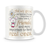 Little Church Mouse As We Grow - Best Friends Mug