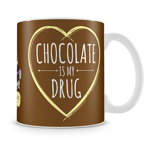 Aunty Acid Chocolate Is My Mug