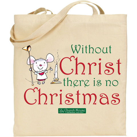 Little Church Mouse Christ Tote Bag