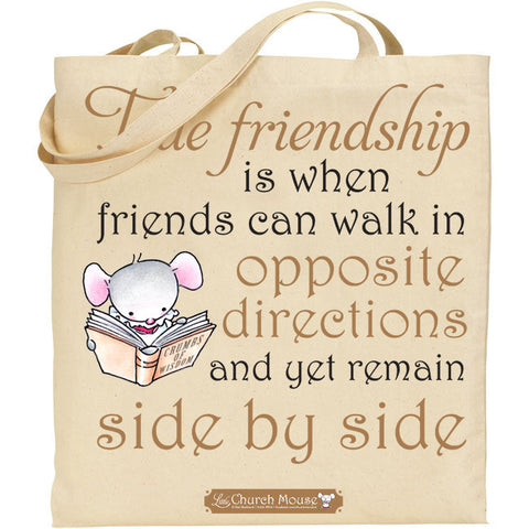 Little Church Mouse Friends Tote Bag