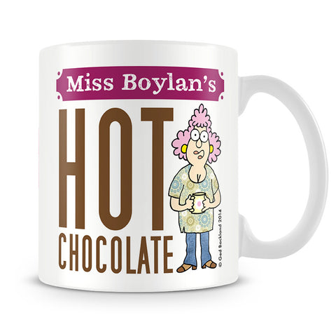 Aunty Acid Hot Chocolate Mug