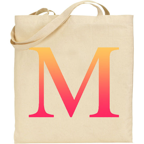 Personalised Initial Tote Bag