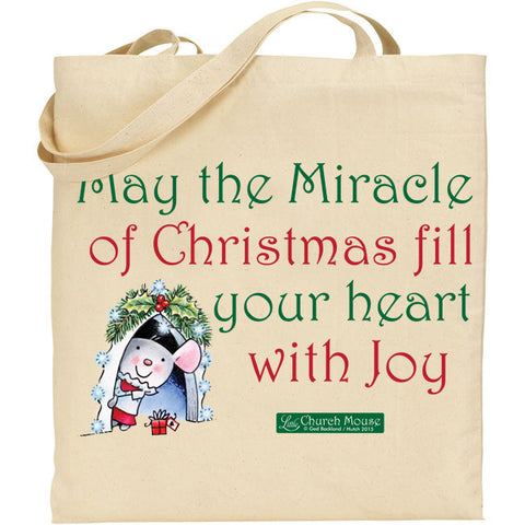 Little Church Mouse Miracle Tote Bag
