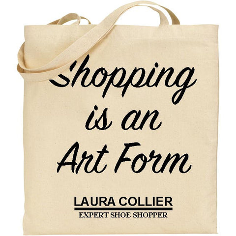 Personalised Shopping Art Form Tote Bag