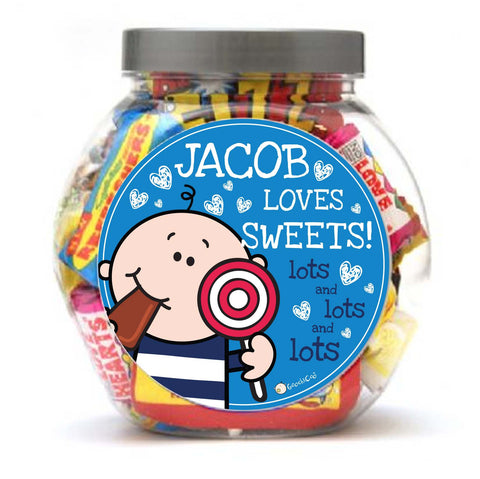 Goochicoo Boy Love Sweet Jar