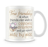 Little Church Mouse True Friendship - Best Friend's Mug