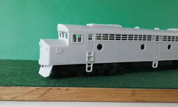 CNW E 8 Crandall Locomotive Shell, HO Scale