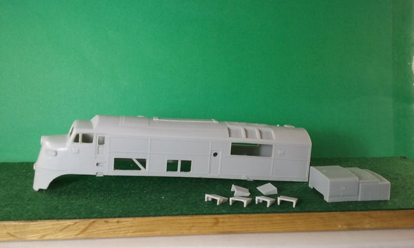 CNJ DR 4 4 1500 BABY FACE A UNIT # 74 / 75 AS BUILT & MODIFIED,TANK,AND ROOF VENTS, HO Scale