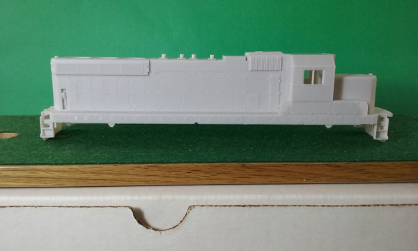 IC SD20 Engine Shell, HO Scale Locomotive Body