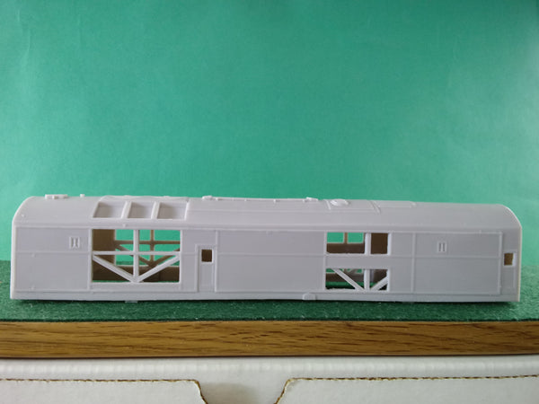 "CNJ DR 4 4 1500 BABY FACE B UNIT "" K "" SHELL, TANK,AND ROOF VENTS, HO Scale"