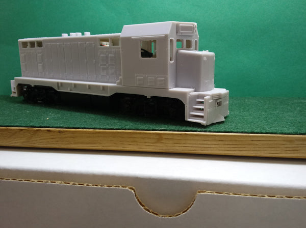 CF 7 with EMD Cab  Locomotive Shell, HO Scale
