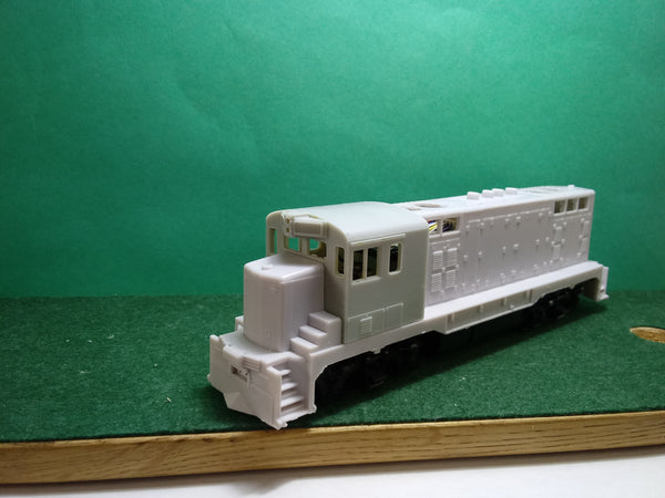CF 7 with Round Roof Cab  Locomotive Shell, HO Scale
