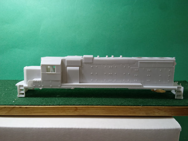 ICG/IC SD20 Engine Shell Kit, HO Scale Locomotive Body