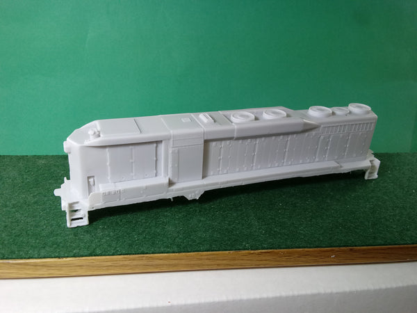 EMD SD30 B Unit Engine Shell HO Scale........New Release