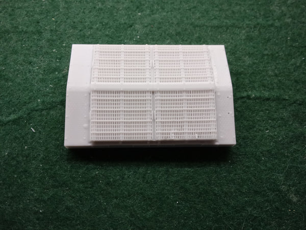 HO Scale Radiator Section for CP & CSX AC4400 CWM Engine Shell, BY PNW RESINS