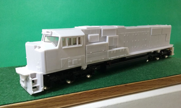 NS SD70 ACC Cab glass, HO Scale