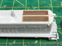RS 1325 Engine Shell & Custom Frame, HO Scale, New Version Release