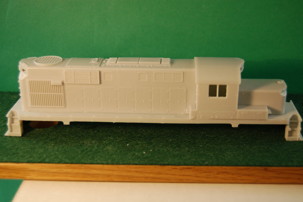 HO Scale, Delaware & Hudson RS11 Chop Nose Engine Shell kit by PNWR New Release