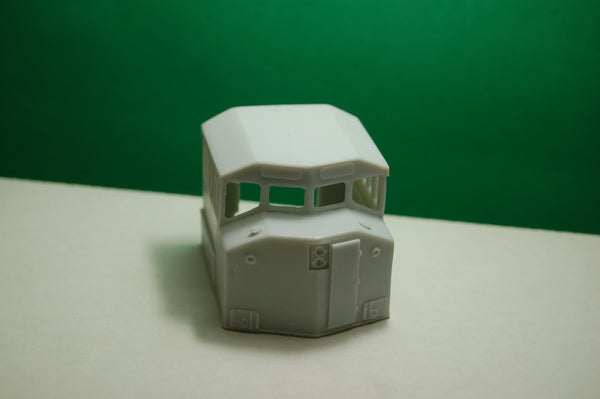 HO Scale Canadian Dash 9  4 Window Cab Conversion, NEW RELEASE BY PNW RESINS