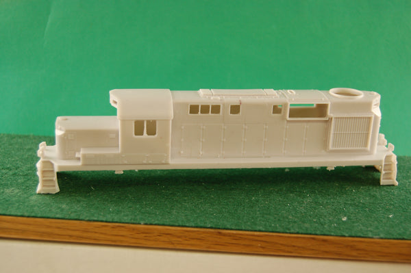 HO Scale, Lehigh Valley RS11 Chop Nose Locomotive Shell, HO Scale