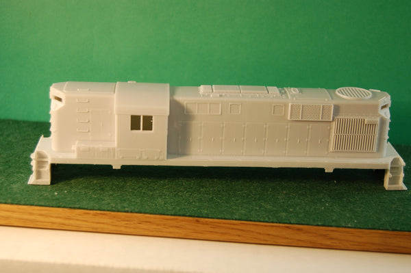 HO Scale, Delaware & Hudson RS11 High Hood Engine Shell kit by PNWR New Release