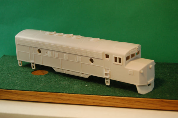 HO Scale, Mini / F7 Crandall Engine Shell by PNWR New Release fantasy engine