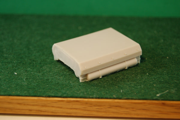 HO Scale Fuel Tank for the MT6 Slug Engine Shell, BY PNW RESINS
