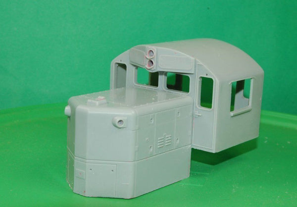 GP9 CHOP NOSE  Cab Section, O Scale