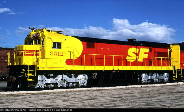 ATSF SF30C Rebuild Locomotive, HO Scale.  We are in master stage now.