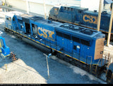 CSX SD70 Mac Rear Section Conversion Kit, Pacific Northwest Resins, HO Scale