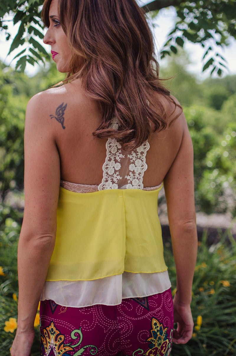 Lace You to the Finish Tank