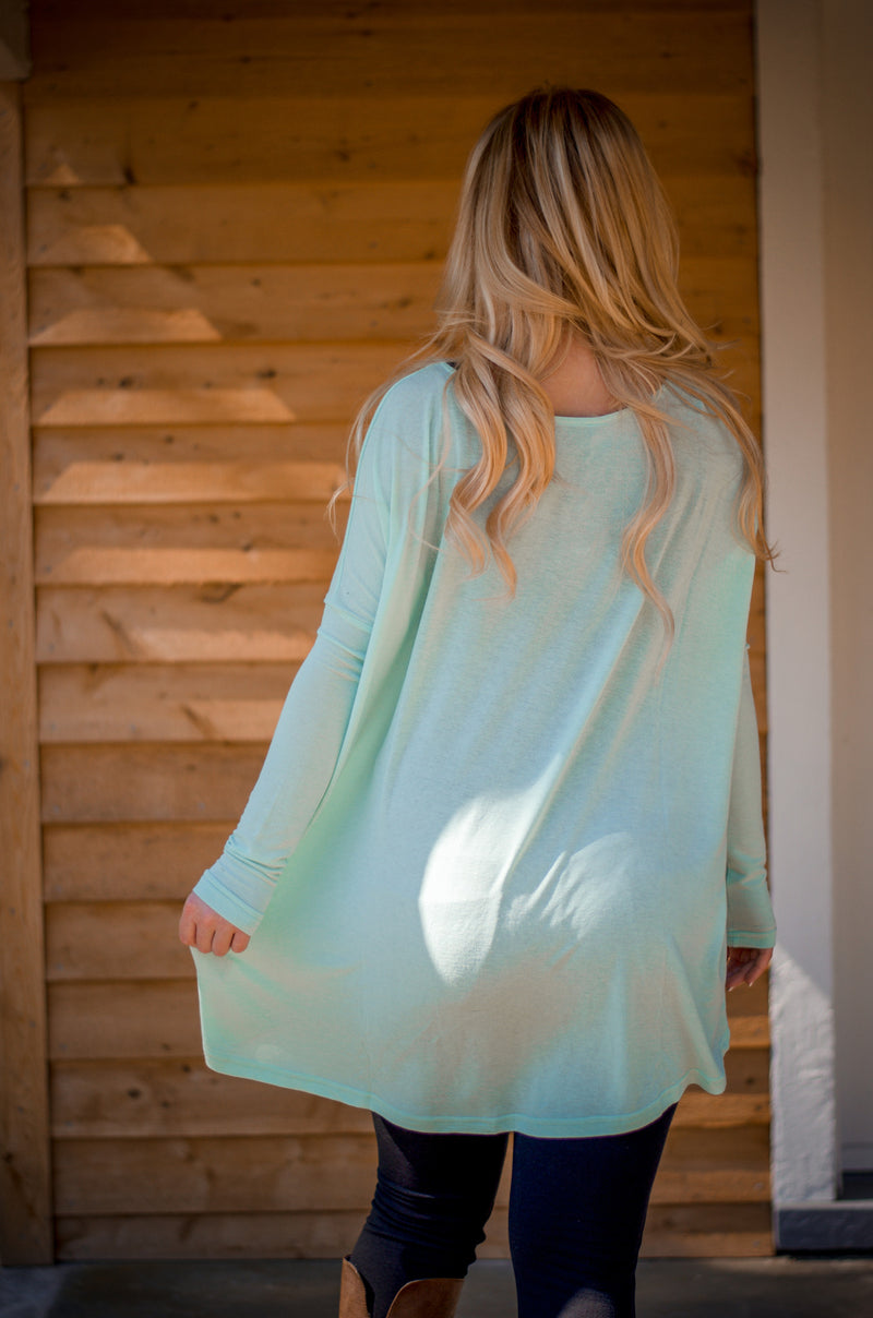 Teal You Away Top
