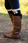 Cute and Cozy Leg Warmers - Black