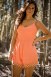 Peach Perfect Romper
