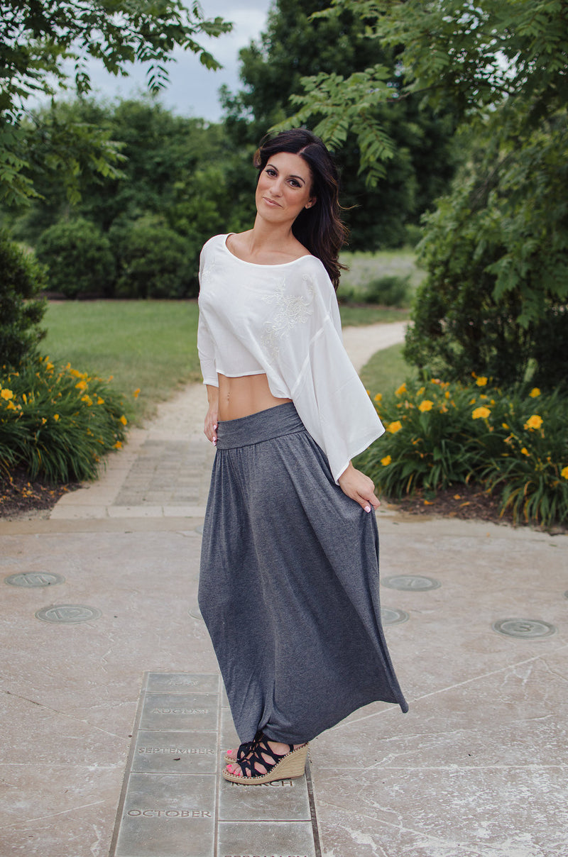 To the Max Maxi Skirt