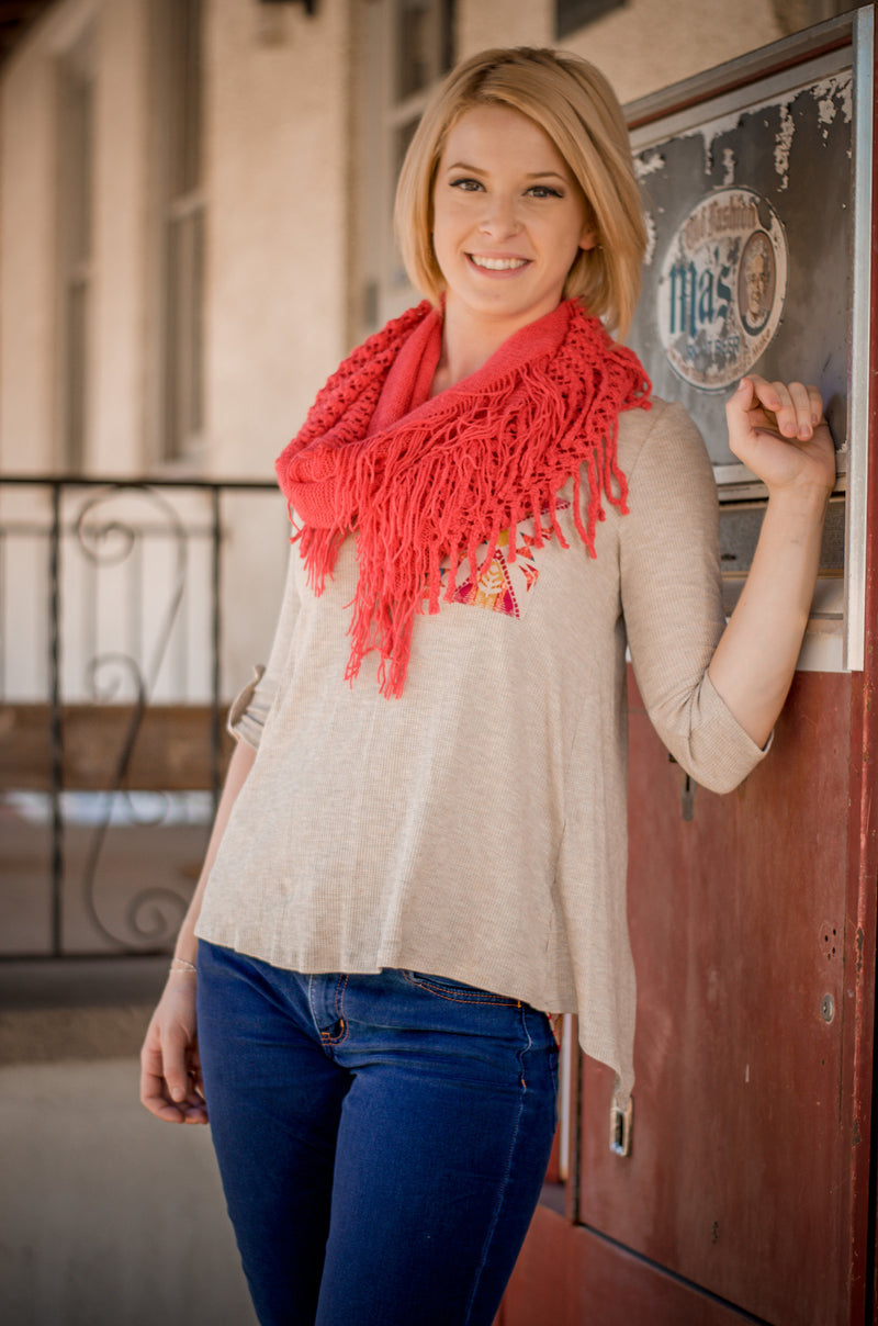 Call it Coral Scarf