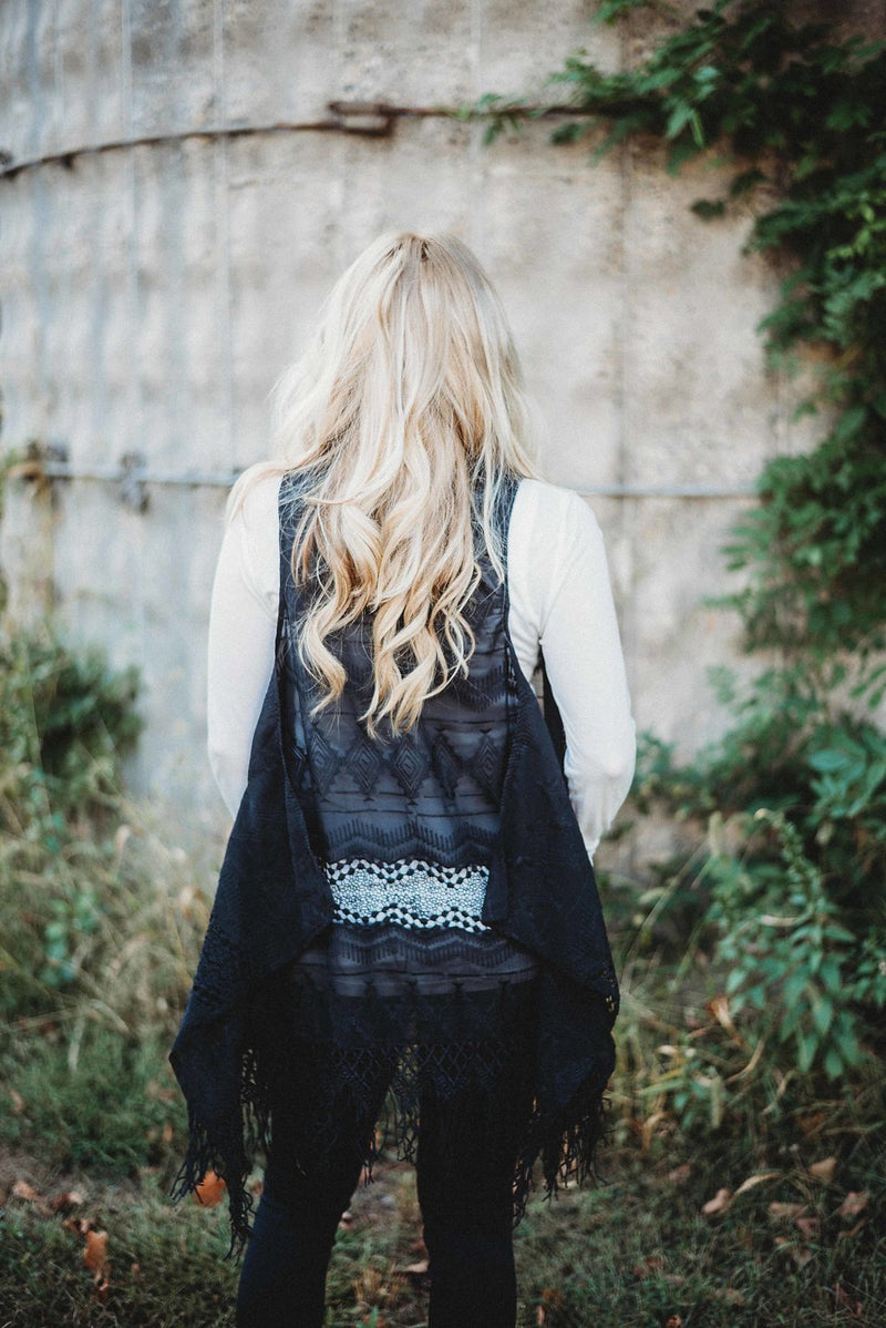 Dream Big Vest- Black