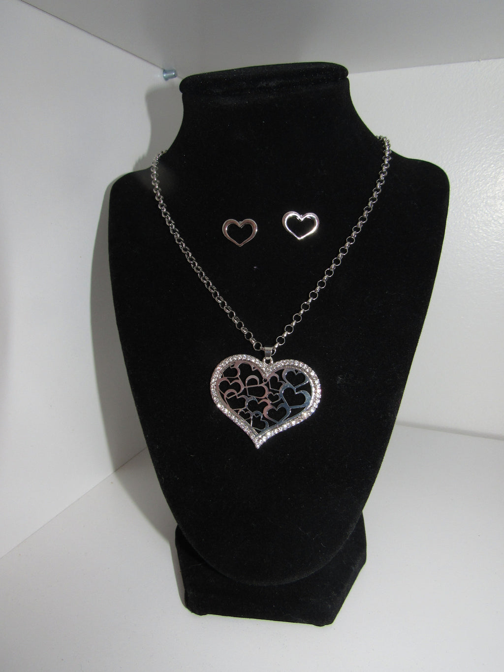 Jar of Hearts Necklace/ Earring Set