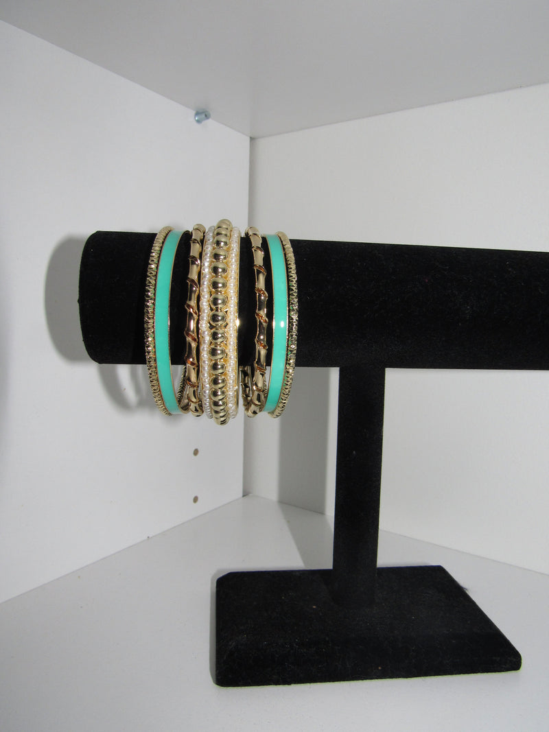 Some Sea Bangle Bracelets