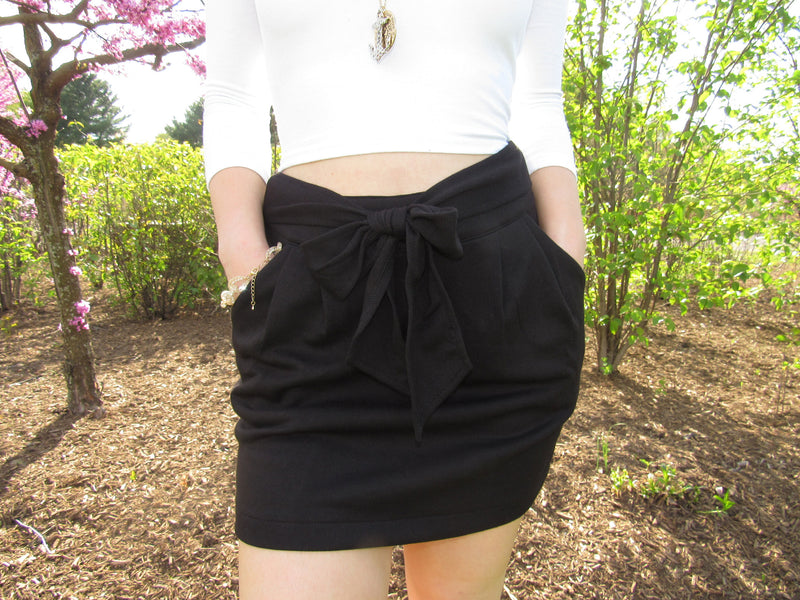 Remember Me Skirt- Black